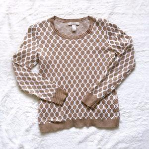 Banana Republic • Crew Neck Honeycomb Sweater